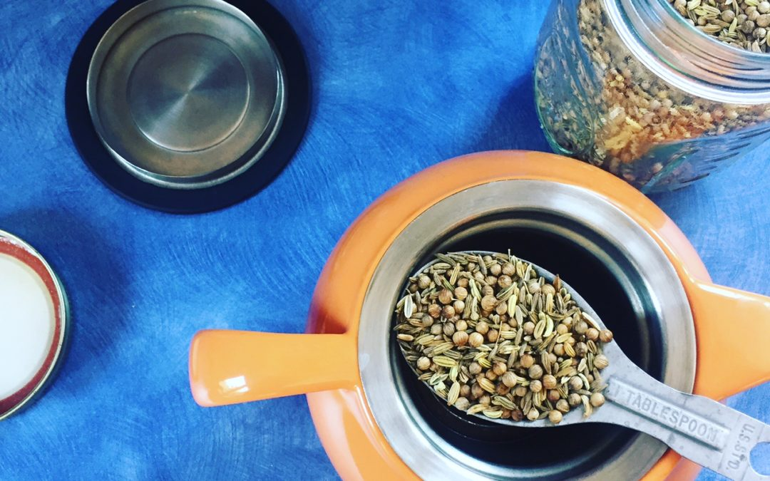 Cumin Coriander and Fennel Tea